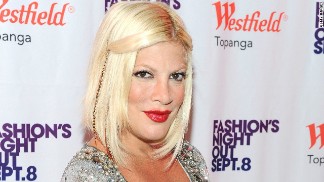Tori Spelling on being 'a mom warrior'