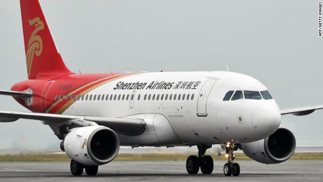 新兴都市深圳的航班在起飞后不久备降湖北省会武汉