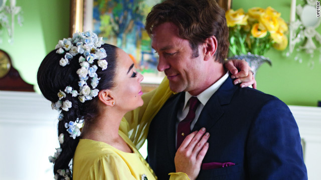 Lindsay Lohan and Grant Bowler star as Elizabeth Taylor and Richard Burton in