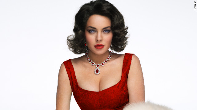 Lohan as Liz Taylor in new 'Liz & Dick' photos