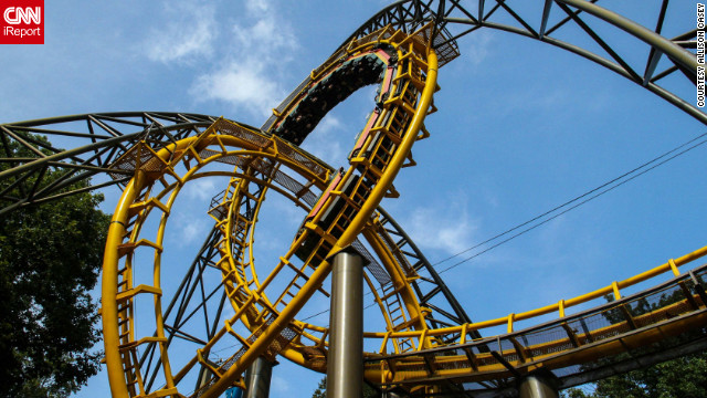 """The Loch Ness Monster is one of <a href='http://ireport.cnn.com/docs/DOC-832993'>Allison Casey's favorite rides</a> at Busch Gardens in Williamsburg, Virginia. """"It's not gimmicky or the kind that will scare the pants off of you, it's just super fun."""""""