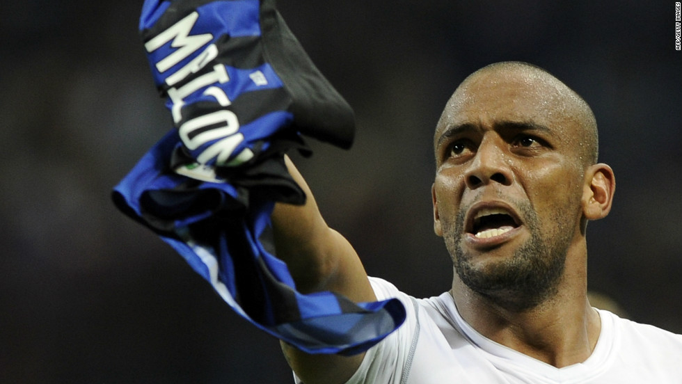 <strong>From Inter Milan to Manchester City:</strong> The reigning English Premier League champions have snapped up right-back Maicon for an undisclosed fee to help boost their bid for domestic and European honors in 2013. The Brazilian international has been at the San Siro for the past six seasons and made 235 appearances for the club.