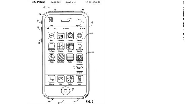 Apple's vision for its app, according to U.S. Patent and Trademark Office, shows an icon in the screen's lower right labled &quot;iTravel.&quot;&lt;br/&gt;&lt;br/&gt;Apple is releasing a mobile wallet app called Passbook which could lead to some of the ideas suggested in these iTravel patent schematics, which were submitted in 2008. The patent was granted last July.&lt;br/&gt;&lt;br/&gt;&quot;Empty pocket&quot; travel apps would eliminate the need to carry credit cards, airline tickets, boarding passes, baggage claim stubs, car or hotel reservations, or even personal identification. Click through the gallery to see more.