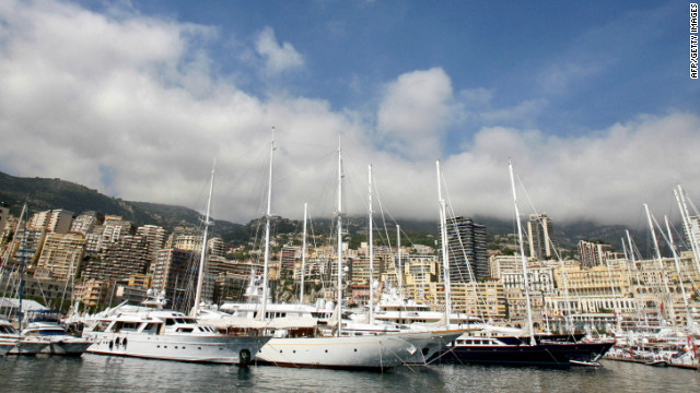 Around 100 superyachts -- ranging from 25 to 90 meters -- will go on display along Port Hercules harbor during the Monaco Yacht Show in September.