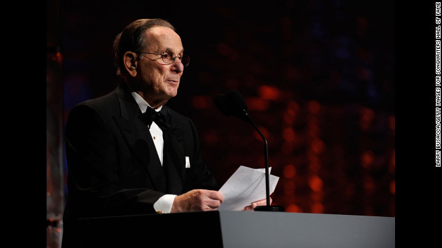 &lt;a href='http://www.cnn.com/2012/09/01/showbiz/hal-david-obit/index.html'&gt;Hal David&lt;/a&gt;, the lyricist behind such standards as &quot;Raindrops Keep Falling on My Head&quot; and &quot;What the World Needs Now is Love,&quot; died September 1 at age 91.