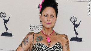 Costume designer Mandi Line attends an Academy of Television Arts & Sciences reception in Los Angeles.