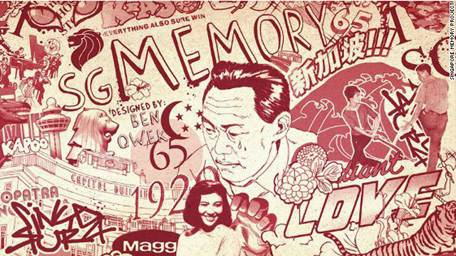 Singapore is calling on all its residents to share their memories as the island nation approaches its 50th anniversary of independence. Thousands of residents have uploaded photos, videos, even e-books, documenting their life in the culturally rich city-state. So far, more than 400,000 memories have been collected. 