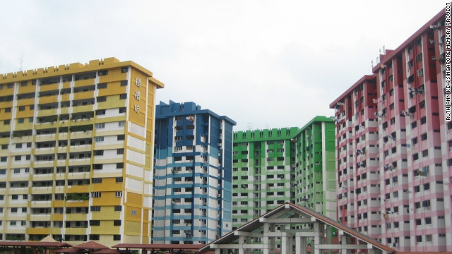 Singapore's Rochor Centre is an eye-catching feature of the island nation's skyline. It is also the center of many memories submitted to the Singapore Memory Project. &quot;What struck me the most was the sense of family,&quot; said Ruth Ann Keh, 17, a project volunteer. &quot;All the people I talked to mentioned the bond. Now you don't know your neighbors.&quot; The Rochor Centre is slated to be torn down in 2016 to make way for a new expressway.