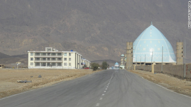 A mosque outside of Kandahar city.