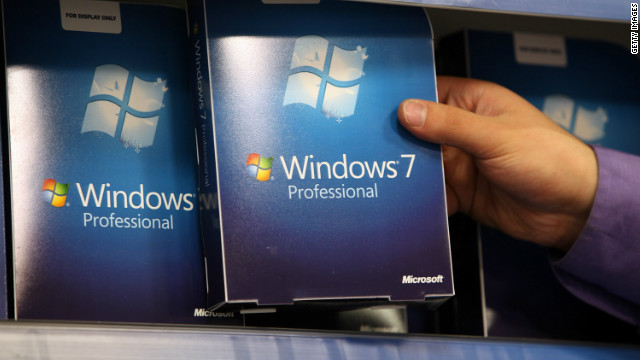 Three years after it went on sale, Windows 7 is now the world's most used desktop operating system.