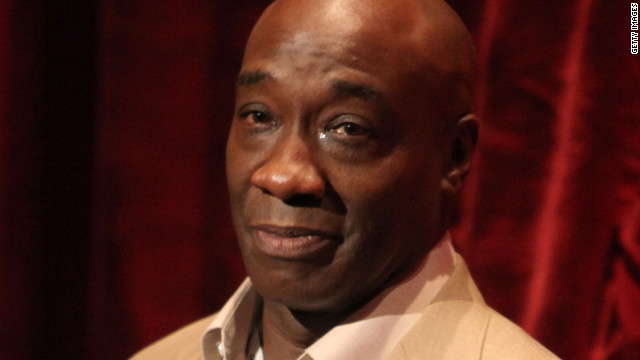 Actor Michael Clarke Duncan was known for his great size and deep voice.