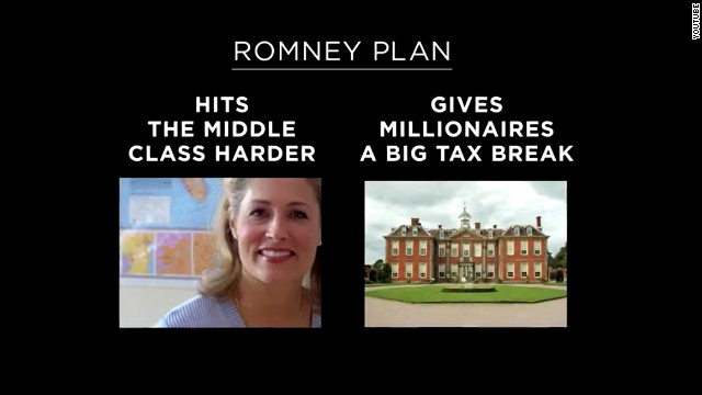 Obama ad hits Romney on tax plan