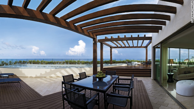 Live Aqua Cancun is an adults-only, all-inclusive resort. Travelers looking for guaranteed peace and quiet may want to look at adults-only properties.