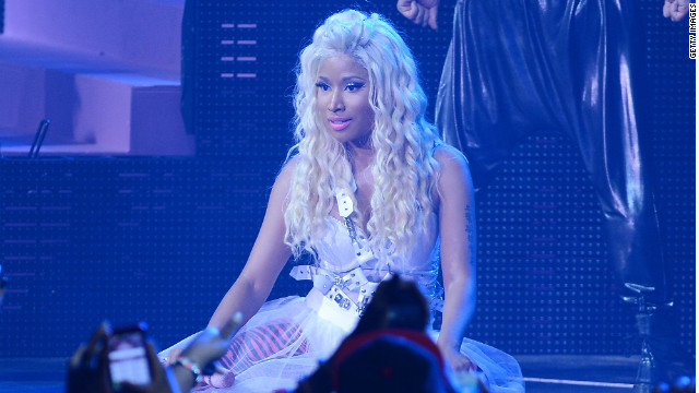 Nicki Minaj backs Romney?