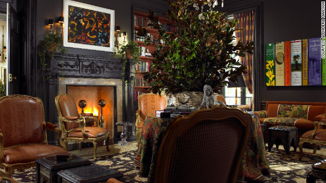 Guests at the Glenmere can stay in one of 18 individually-decorated guest rooms and suites.