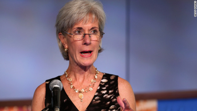 Sebelius hits Ryan over Medicare, marathon time