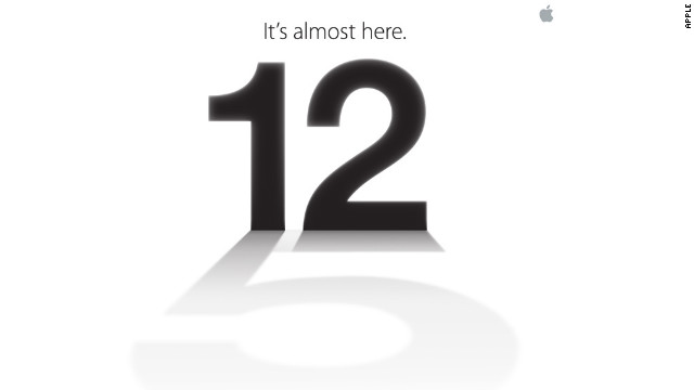 Apple announces likely iPhone 5 event on Sept. 12