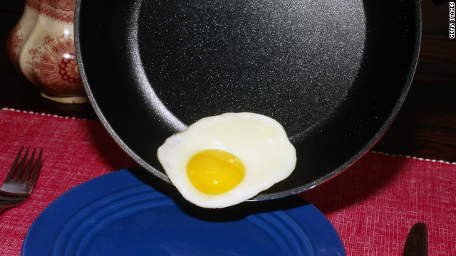 Items such as nonstick cookware may be manufactured with perfluorooctanoic acid, or PFOA.