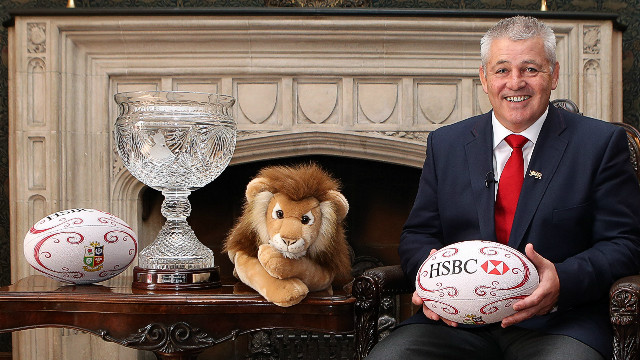 New Zealand's Warren Gatland becomes only the second man from outside the British isles to lead the Lions rugby team