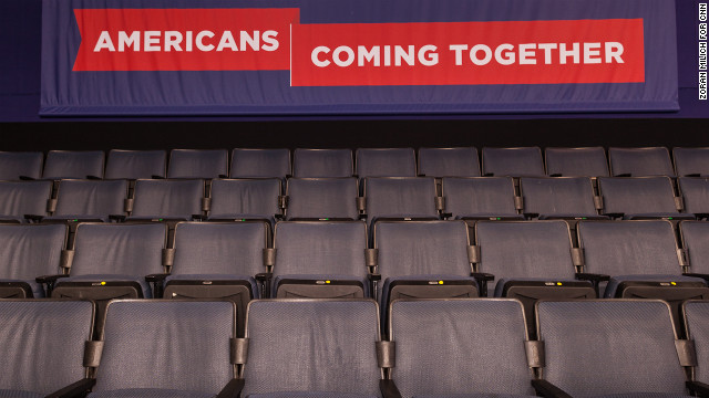 &quot;Americans coming together&quot; is a theme of this week's Democratic convention. 