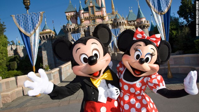 Even spots typically packed with kids, such as Disneyland, tend to slow down when school is in session.