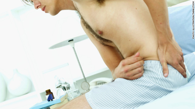 It's important to talk to your partner if back pain is causing you problems in the bedroom, experts say.