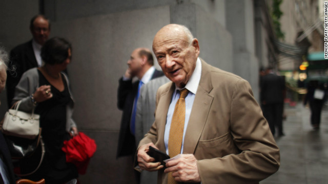 Former Mayor Ed Koch, 88, has been hospitalized in New York.