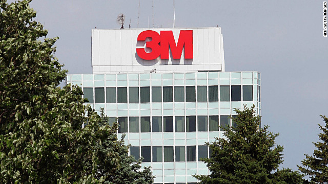 St. Paul, UNITED STATES: This 30 May, 2006 photo shows the 3M headquarters building in St. Paul, Minnesota. AFP PHOTO/Karen BLEIER (Photo credit should read KAREN BLEIER/AFP/Getty Images)