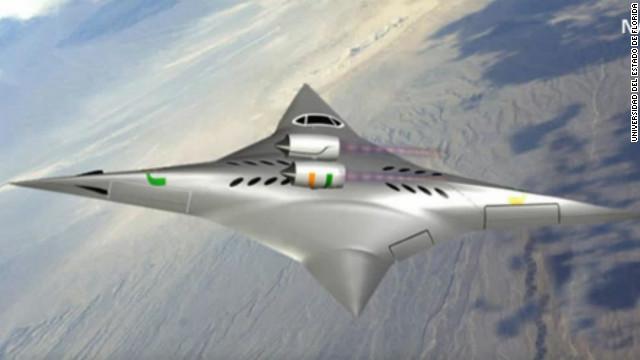 Avión «ninja» de pasajeros con velocidades supersónicas… en silencio