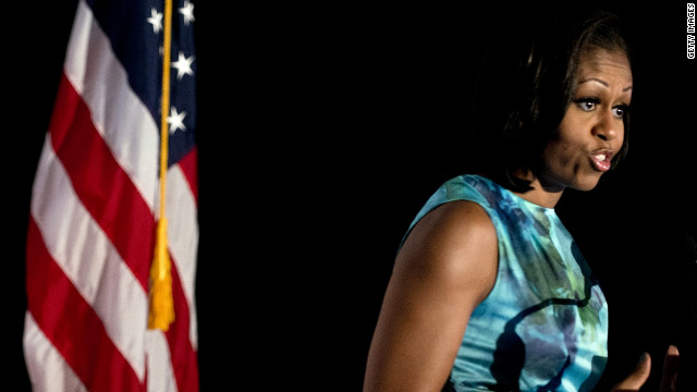 First lady tells black, Hispanic caucuses: We need you