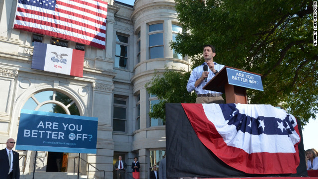 Ryan praises Clinton over Obama