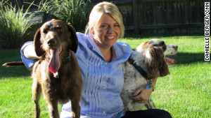Since 2009, Marlo Manning\'s group has helped nearly 400 dogs stay with their families.