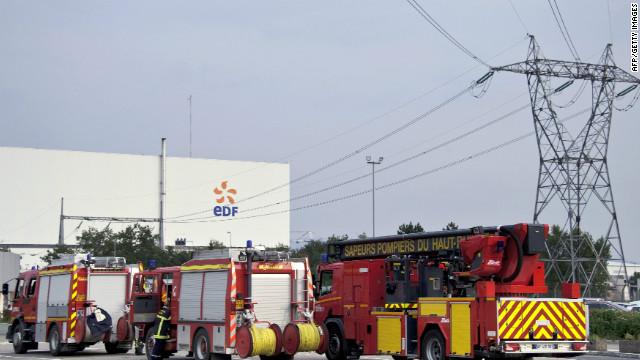 Dos heridos por un incidente nuclear en Francia