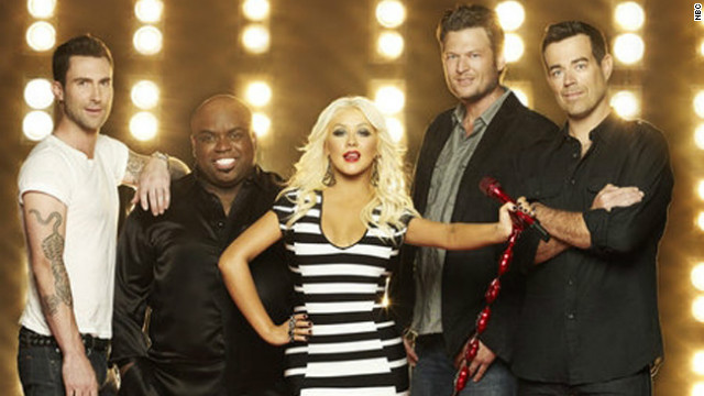 On December 17, &quot;The Voice's&quot; performance &lt;a href='http://tvbythenumbers.zap2it.com/2012/12/18/tv-ratings-monday-gossip-girl-up-a-tick-for-series-finale-how-i-met-your-mother-the-voice-mike-molly-up-hawaii-five-0-dips/162198/' target='_blank'&gt;finale &lt;/a&gt;garnered more than 13 million viewers. &lt;a href='http://marquee.blogs.cnn.com/2012/09/18/usher-shakira-to-join-the-voice-in-the-spring/?iref=allsearch' target='_blank'&gt;Usher and Shakira &lt;/a&gt;will occupy the Big Red Chairs next season when they replace Christina Aguilera and CeeLo Green as judges.