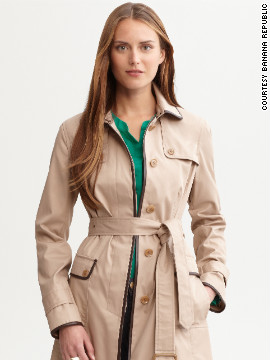 Wear your smart trench coat to the airport instead of packing it to free up more luggage space. Veteran travelers will thank you for taking it off before arriving at airport security to speed up the line.