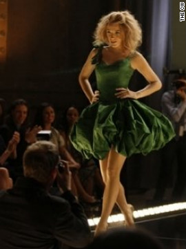 Daman created this look for Blake Lively's character, Serena, to wear in a fashion show during season 2. &quot;It fit Blake like a glove and it was just one of those moments where I was like, wow, that's really a great dress,&quot; he said.