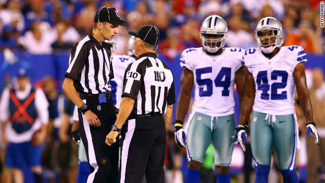 Replacement refs bad business for NFL?