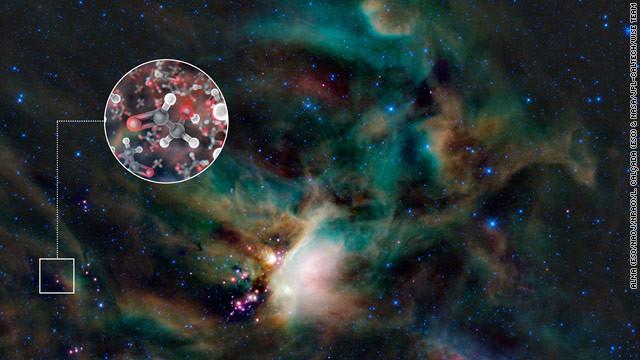 """Estrellas """"dulces"""" dan pistas del origen de la vida"""
