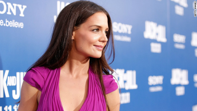 How Katie Holmes keeps perspective