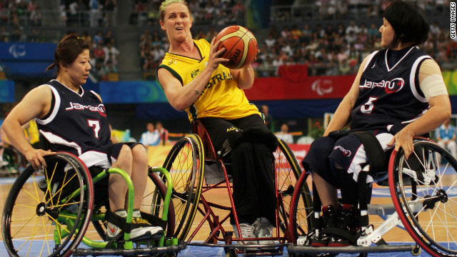 Tesch only took up sailing two years ago, having formally won a Paralympic medal with the Australian wheelchair basketball team.
