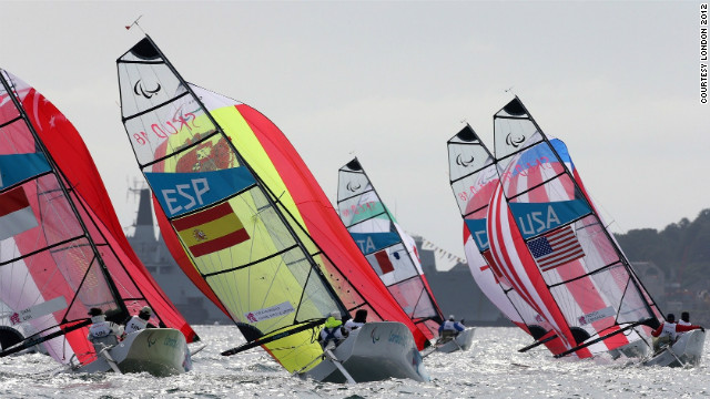 But Thursday will also see Great Britain win its first ever Paralympic sailing medal. The hosts are guaranteed at least bronze in all three classes.