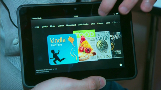 Kindle HD vs. iPad: una comparación