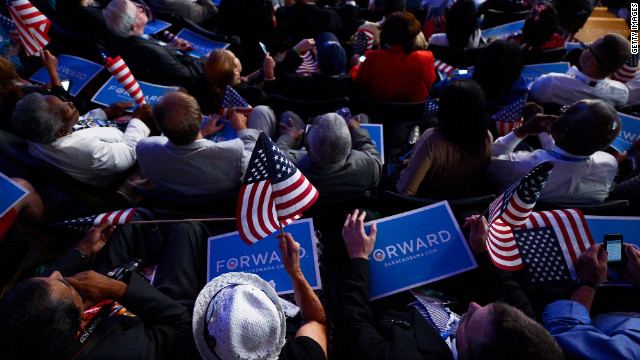 Jobs report brings end to Democrats' convention high