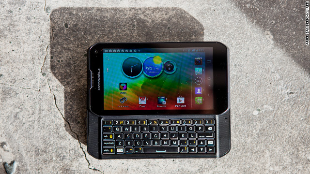 "Most smartphones have ditched tactile keyboards. Not the Motorola Photon Q. Engadget says it has ""one of the finest physical keyboards we've used on an Android device."""