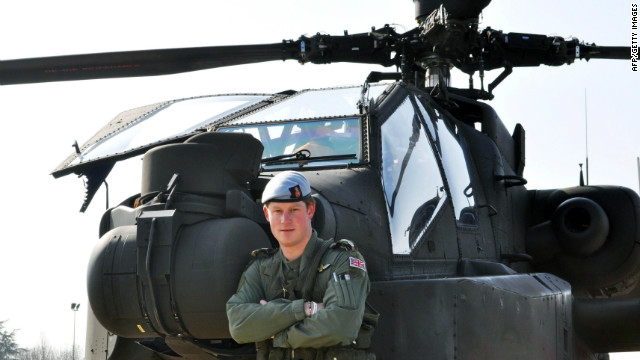 British military sends Prince Harry to Afghanistan