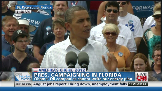 Obama reelection message hits Florida