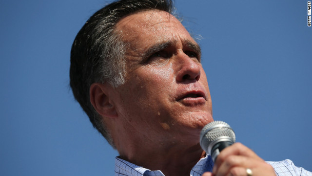 Romney aims for the offensive