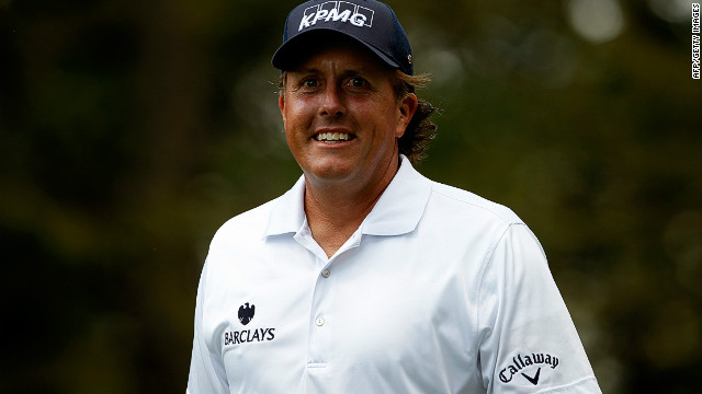 Phil Mickelson's round of 64 at Crooked Stick on Saturday earned him a tie for the lead with Vijay Singh