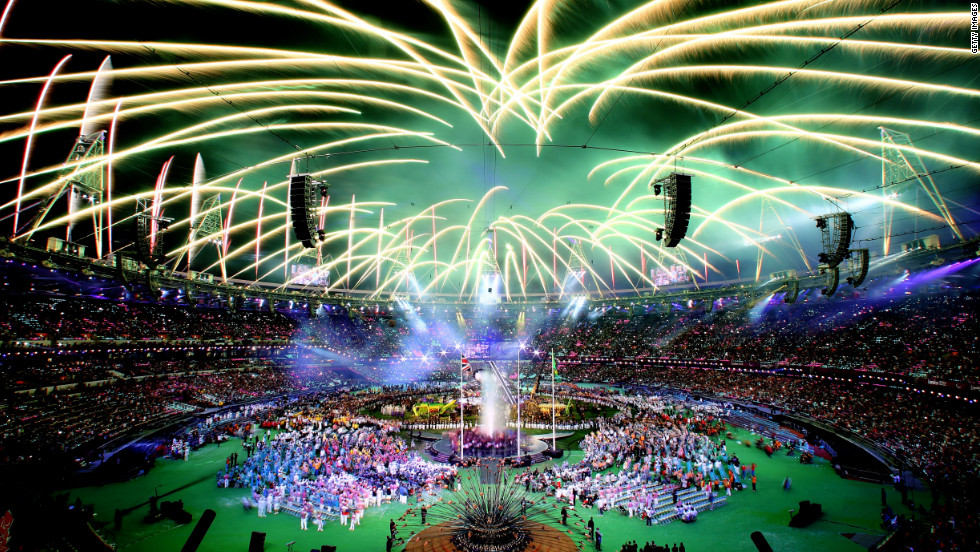 Fireworks light up the stadium during the closing ceremony of the London 2012 Paralympic Games at Olympic Stadium on Sunday, September 9. &lt;a href='http://www.cnn.com/2012/08/28/world/gallery/paralympics-best/index.html'&gt;Check out the best photos of the Paralympic Games here&lt;/a&gt;.
