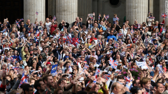 London 2012: The victory parade